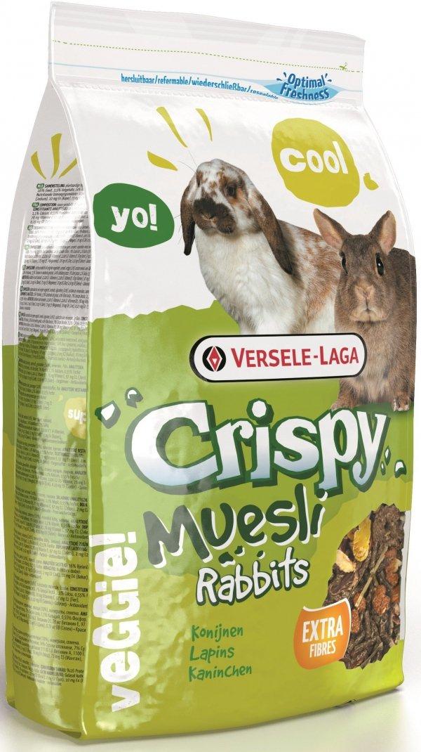 VL 461701 Crispy Museli 1kg mieszanka dla królika
