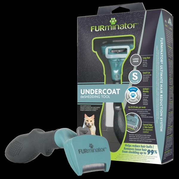 FURminator 141228 dla kotów długowłosych Small