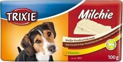 Trixie 2972 Czekolada dla psa biała 100g