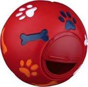 Trixie 3491 Zabawka piłka na przysmaki 14cm