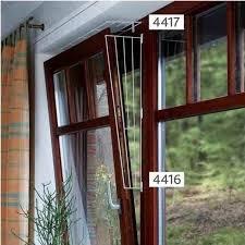 Trixie 4416 Kratka zabezpieczająca okno biała skoś