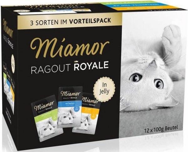 Miamor 74098 12x100g królik/kurczak/tuńczy galaret