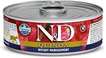 ND Cat 2192 Adult 80g Quinoa Weight Management