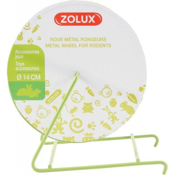 Zolux 206752 kołowrotek metalowy O 14cm beżowy