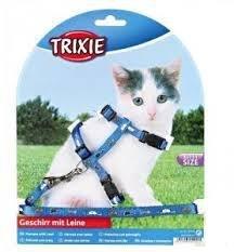 Trixie 4144 Szelki regul.dla małych kotów mix kolo