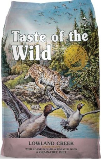 Taste of the Wild Cat 4424 Lowland Creek 2kg