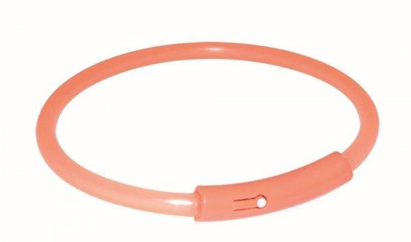 Trixie 13394 Obroża Migająca pomarańczowa XL 58cm*