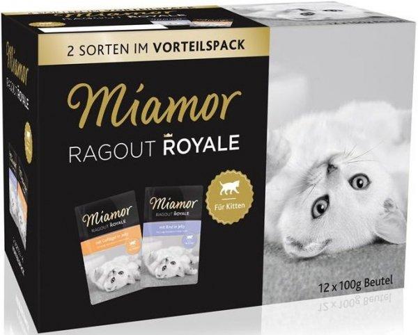 Miamor 74095 12x100g Kitten galaret