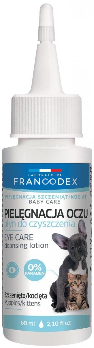 Francodex 179137 Płyn do czysz oczu pies/kot 60ml