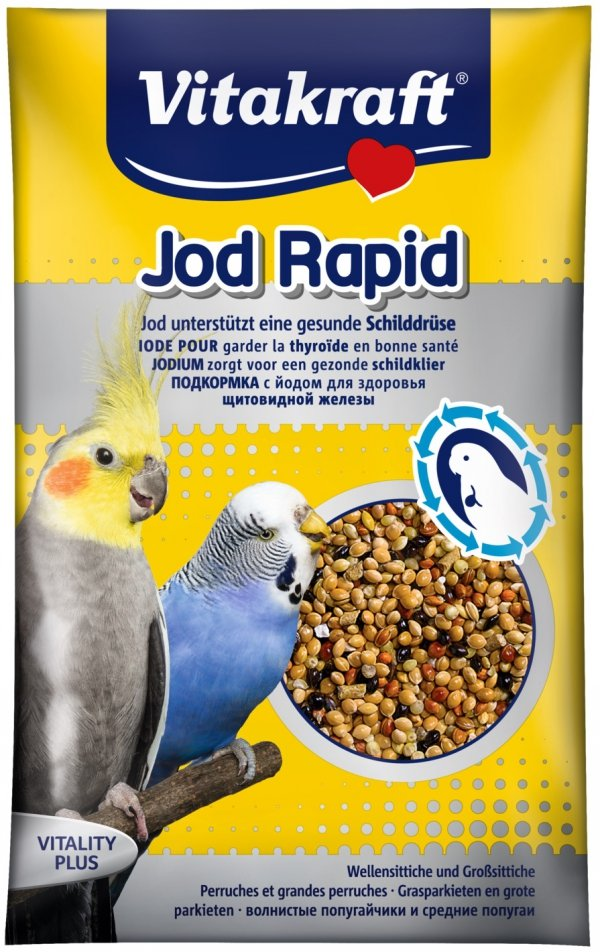 Vitakraft 21202 Jod Rapid Perlen 20g- dla papug