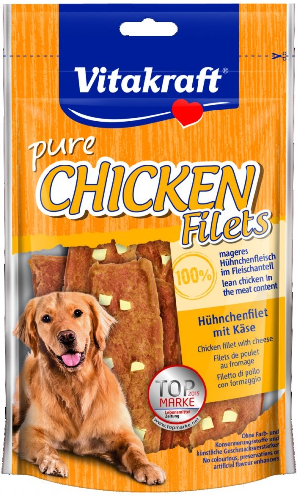 Vitakraft 3638 Chicken Filets kurczak i ser 80g