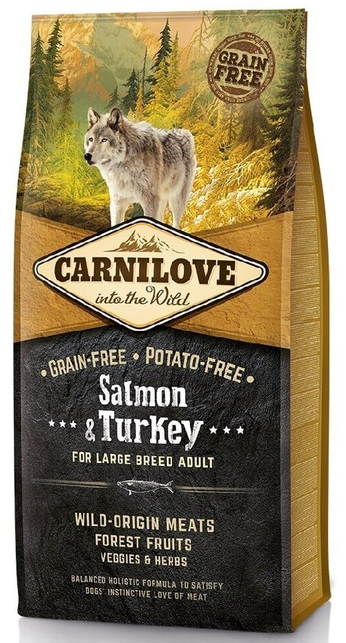 Carnilove Dog 8952 Adult LB Salmon Turkey 1,5kg