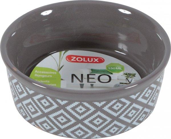 Zolux 206681 Miska gres gryzon NEO 150ml kol szary