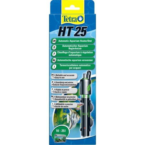 Tetra 145122 HT-25 grzałka 25W temp19-31 10-25L
