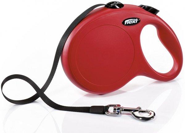 Flexi 2300 Classic L Tape 8m 50kg czerwona