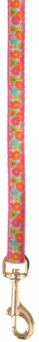 Zolux 510075RS Smycz kot Hippy 1m/10mm różowy*