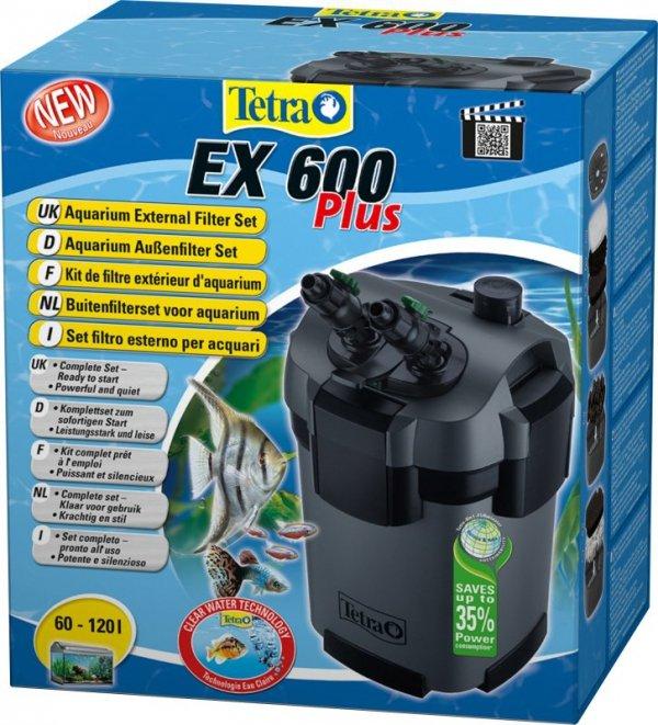 Tetra 240926 EX-600 Plus Filtr zewnętrzny 60-120L