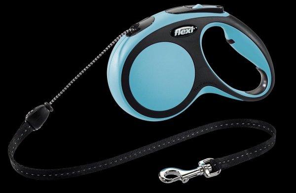 Flexi 2870 Comfort XS Cord 3m 8kg niebieska*