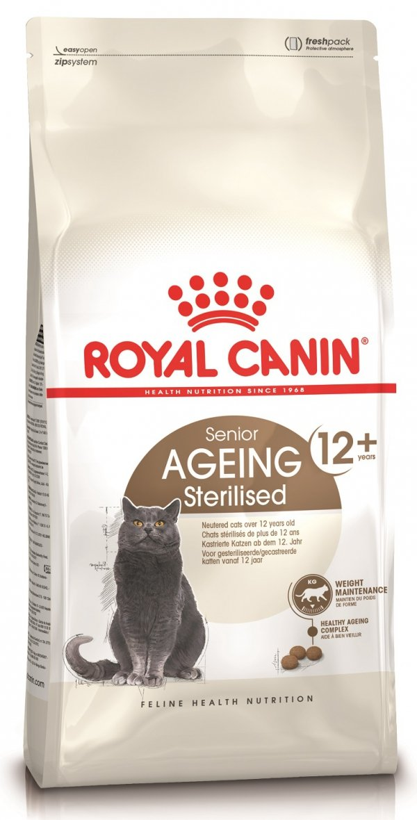Royal 227360 Senior 12+ Ageing Sterilised 2kg