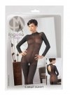 Catsuit with Lace Collar M/L