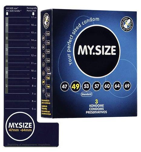 Prezerwatywy 49 mm 3 szt. My.Size