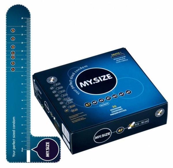 Prezerwatywy 47 mm 36szt. My.Size