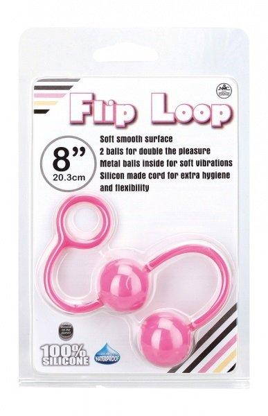 Kulki Flip Loop, róż