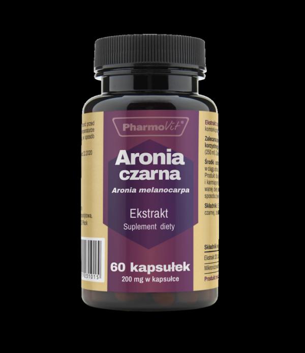 Aronia czarna - 60 kapsułek PharmoVit