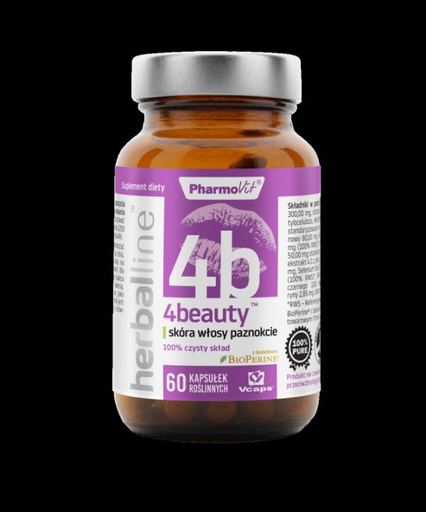 Herballine 4Beauty™ skóra włosy paznokcie 60 kapsułek