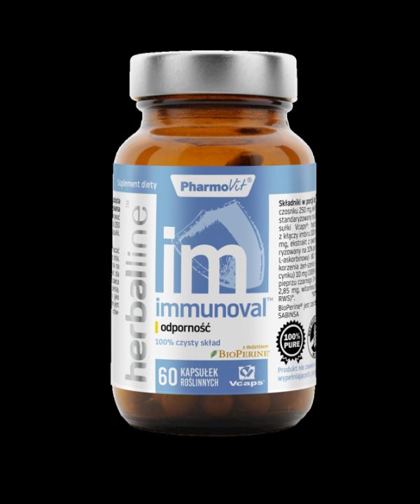 Herballine Immunoval™ odporność 60 kapsułek