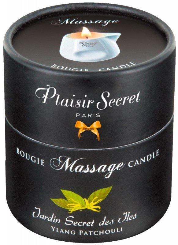 Świeca do masażu Paczula 80 ml Plaisir Secret