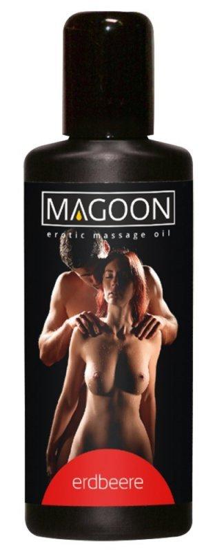 Olejek do masażu Truskawka 100 ml Magoon
