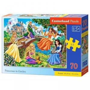 Puzzle 70 princesses in garden