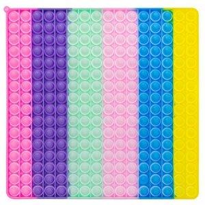 Pop it wielki kwadrat pastel