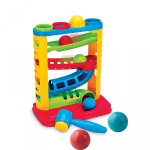 SMILY PLAY SP82932 Zjeżdżalnia z piłeczkami