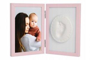 Tiny Memories - Ramka z glinką różowa