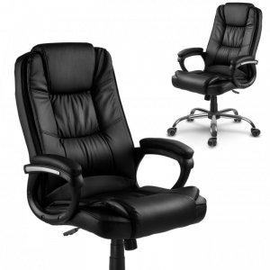 Fotel biurowy Sofotel Porto czarny