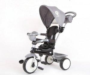 Qplay Rowerek Trójkołowy Comfort Grey