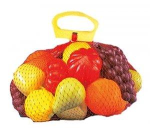 Siatka z owocami i warzywami #S1
