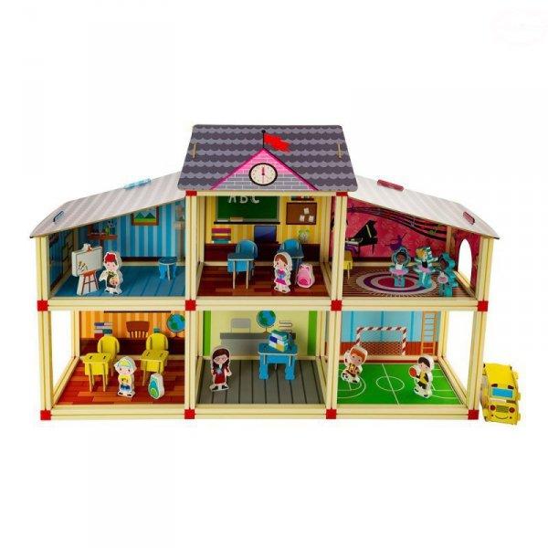 Szkoła - domek dla lalek