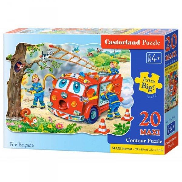 Puzzle 20el.maxi fire brigade