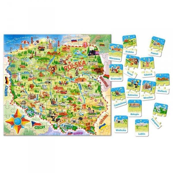 Edukacja e-142 mapa polski