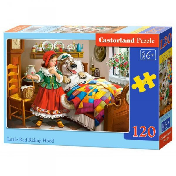 Puzzle 120el. red riding hood