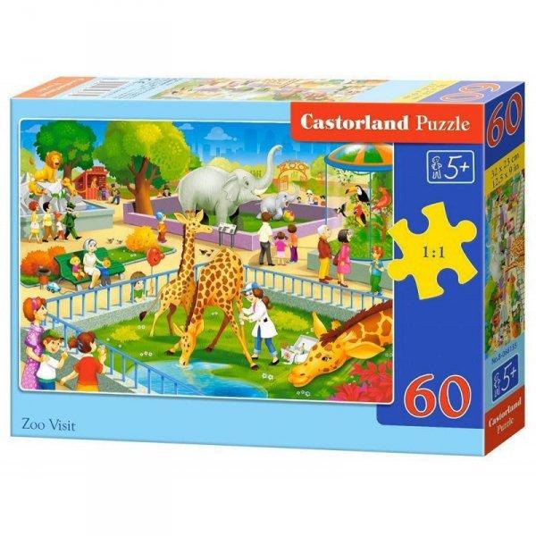 Puzzle 60el. zoo visit