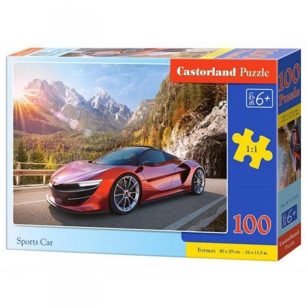 Puzzle 100 sports car