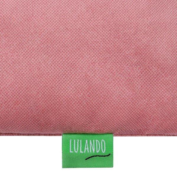 Lulando Huśtawka dla dzieci SWING FRILL różowy