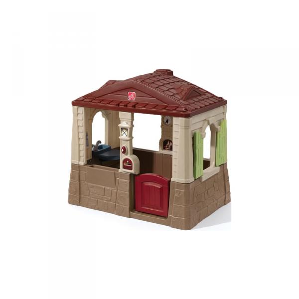 STEP2 Naturalny domek Ogrodowy dla dzieci Neat&Tidy Cottage