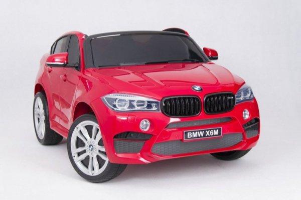 JJ2168 POJAZD BMW 12V PILOT EVA WHITE***