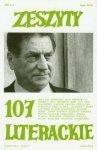 Zeszyty Literackie 107 Claudio Magris