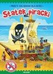 Statek piracki Proste składanki dla dzieci
